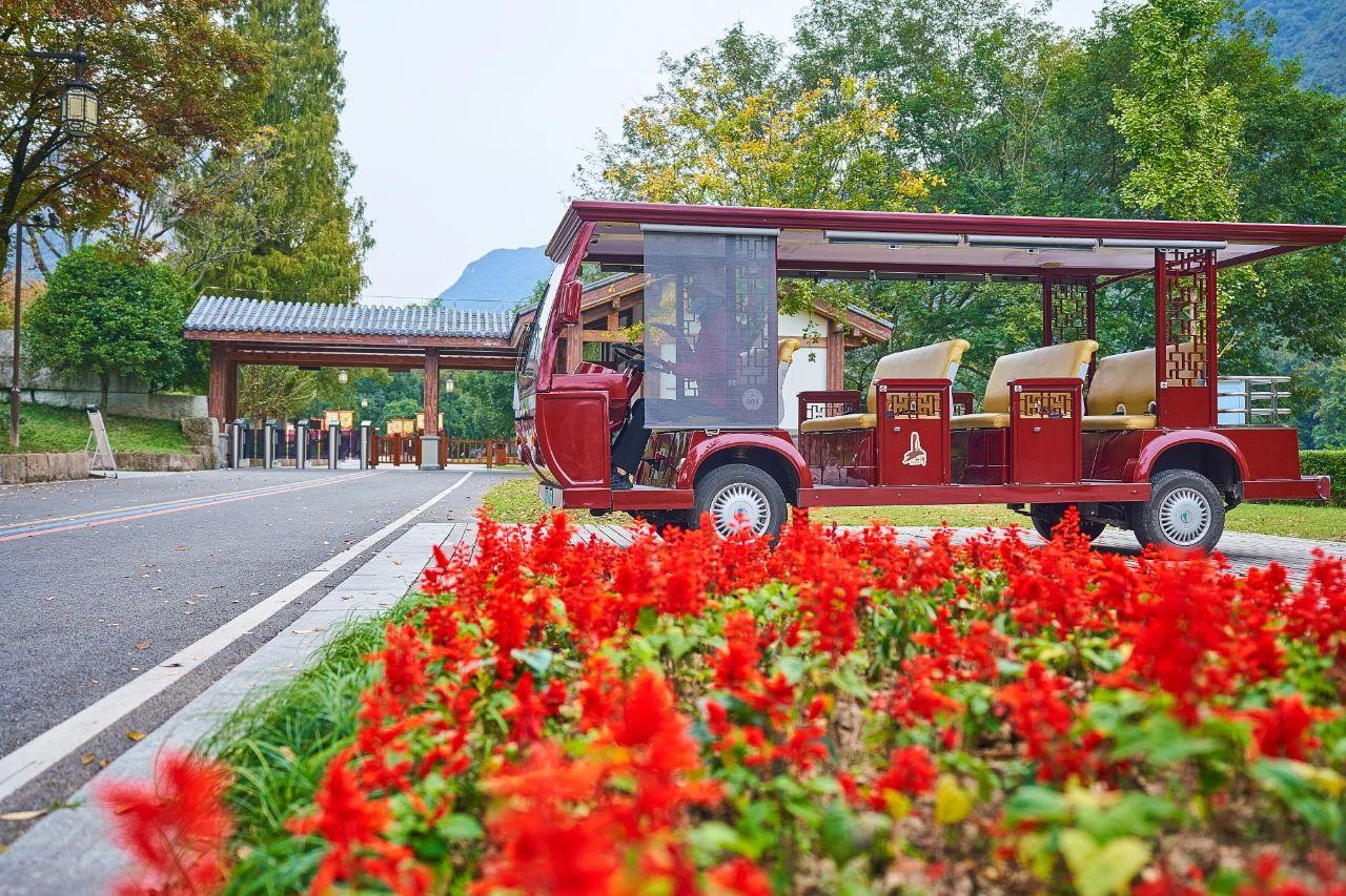 仙都绿道观光车全面提升正式运行